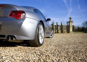 steep driveways gravel